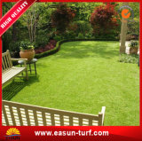 Grama plástica do tapete sintético ao ar livre popular do jardim para ajardinar