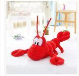 Giocattolo della peluche del gambero del giocattolo dell'aragosta farcito abitudine
