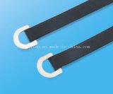 Überzogener Epoxidkabelbinder der Ring-Art-Faltenbildung-SS mit Länge 150mm/250mm/350mm/450mm
