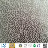 Três camadas da laminação gravada bronzeando a camurça para a tela do sofá (Três-camadas laminadas) para mercados de Europa