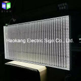 Sinal do diodo emissor de luz para o indicador da caixa leve de poster de filme