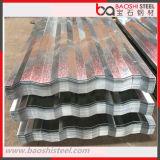 Azulejos de material para techos galvanizados Caliente-Sumergidos de /Corrugated de la hoja de acero