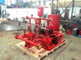 Pompe électrique diesel de système de Firghting d'incendie de jockey de lutte contre l'incendie d'approvisionnement en eau