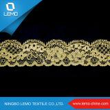 Tessuto per il vestito da cerimonia nuziale, tessuto del merletto del merletto di Chantilly in Doubai