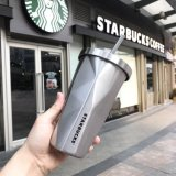 Nova caneca de calor de vácuo de aço inoxidável isolada de parede de design novo para café (SH-SC05)
