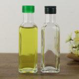 Botella de cristal al por mayor 100ml 250ml 500ml 750ml 1000ml del aceite de oliva de la botella del cuadrado de la botella del aceite de oliva del OEM de la fábrica