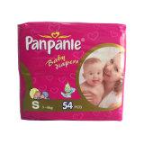 Couche-culotte de bébé de bandes du film pp de PE dans le poly-sac en plastique