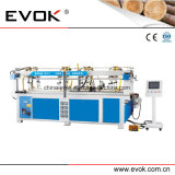 Macchina ad alta frequenza della giuntura del blocco per grafici del riscaldamento del portello ad alta velocità di legno solido (TC-60HF)