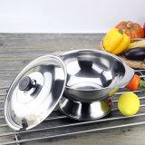 Bandeja de /Rice do fogão de arroz do potenciômetro do aço inoxidável (FT-02011-A)