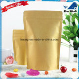 Lj1-215 Kraft Paper Ziplock Bag Moistureproof Compound Aluminium Foil Bags
