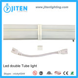 Dispositivo ligero del tubo doble del LED T5, ETL enumerado, luz doble del tubo de T5 LED, el 1FT-8FT