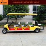 6대의 전송자 거리 법적인 전기 차량