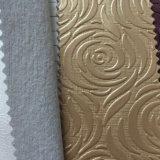 パッケージの壁の装飾のためのレトロの花デザインPVC革