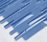 Tegel van het Mozaïek van de Kleur 12X12 van het Zwembad van het Glas van het Kristal van de Levering van de fabriek de Blauwe