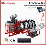 HDPE 관 융해 용접 기계 Shd630/315