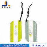 Wasserdichte Dijiao Keychain Karte Belüftung-MIFARE für Produkt-Kennzeichen