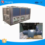 Refrigeratore di acqua di plastica industriale della vite di aria del refrigeratore per la macchina dello stampaggio mediante soffiatura