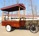 이동할 수 있는 간이 식품 간이 건축물 판매를 위한 전기 커피 자전거