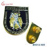 Pin personalizado fábrica do Lapel do emblema do esmalte do logotipo do metal