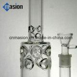 ドームの濾過器の配水管(AY012)が付いているガラス製品の煙る管