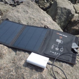 11W jejuam carregador solar Foldable do carregador duplo da potência de Sun das portas do USB