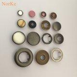 中国ボタンの工場農産物の真鍮の熊手のスナップボタン