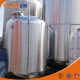 1500L食品等級のステンレス鋼液体水貯蔵タンク