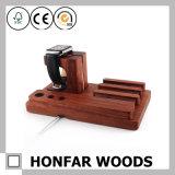 多機能のペン皿の電話またはIwatch木ホールダー