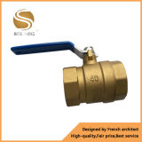 Surtidor de cobre amarillo de la vávula de bola de la alta calidad