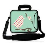 Sacoche pour ordinateur portable de chemise de cahier de sac à main de sac de messager de modèle de chameau avec pouce caché 15.6 du néoprène 17 de traitement 14 14.1 13 13.6 12
