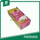 Papel kraft revestido de cajas de presentación plegable con la impresión en color