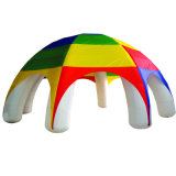 Colorido Carpa Shinning Diseño tela impermeable inflable para Exhibation Feria Evento