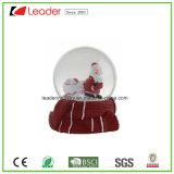 Globo de la nieve del regalo de la Navidad de Polyresin con Santa para el recuerdo y los regalos promocionales