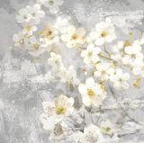 Peinture à l'huile de modèle de fleur de mode pour l'art de mur