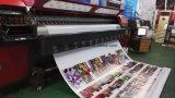 Impressora do grande formato 35pl do Polaris 512 do preço de grosso 3.2m para a bandeira /Vinyl /Sticker do cabo flexível que anuncia a cabeça de impressão 4PCS ou 8PCS da impressão