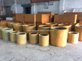 Fo-9c03 Cilindro Outdoor Corten Steel Planter for Wholesale