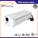El aluminio 630W del hidrocultivo crece el kit refrigerado del reflector de los sistemas ligeros