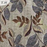Blatt-Muster-Chenille-Jacquardwebstuhl-Gewebe im speziellen niedrigen Boden