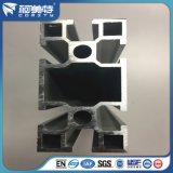알루미늄 압출재 / 매트 실버 양극 처리 된 산업용 알루미늄 프로파일