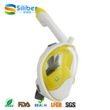 Свободно дышая комплект подныривания лицевого щитка гермошлема силикона высокого качества полный