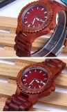 Relógio de madeira da curvatura unisex do Slingshot da forma