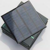 панели фотоэлемента 3W 12V фотоэлемент любимчика миниой поликристаллический для испытания и системы DIY солнечной