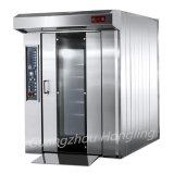 Estante rotatorio profesional Oven/32-Tray del aire caliente del gas para la panadería del restaurante