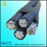 проводник XLPE/изолированный PVC кабель алюминиевого сплава 0.6/1kv чуть-чуть ABC