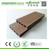 Les ventes chaudes imperméabilisent le plancher de verrouillage extérieur Anti-UV de WPC Decking/WPC