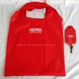 Складная рециркулированная хозяйственная сумка подарка Tote бакалей полиэфира выдвиженческая