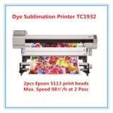 Impresión de Digitaces de la impresora de la sublimación en el papel de la sublimación