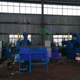 Aparas de aço da velocidade horizontal que Briquetting a máquina para recicl