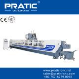 Fresadora del perfil de aluminio del CNC - serie de Pratic Pyb