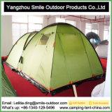 Barraca de acampamento engraçada ajustável do peso leve do quarto de 2 abóbadas melhor